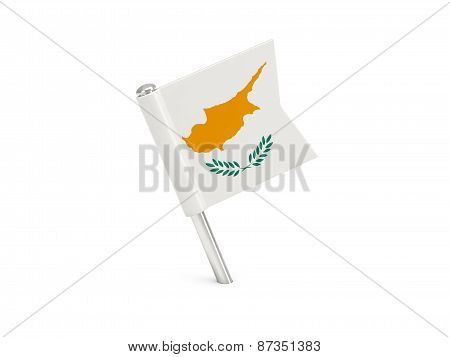 Flag Pin Of Cyprus