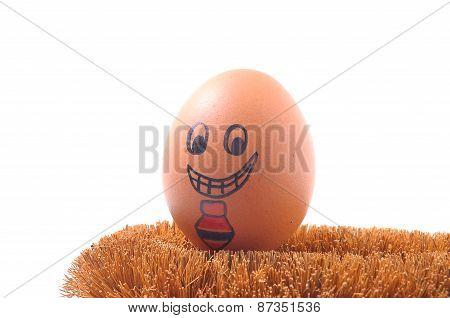 Smile egg