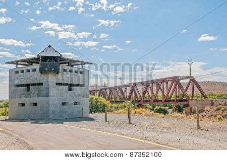 Blockhouse At The Geelbek River Railway Bridge