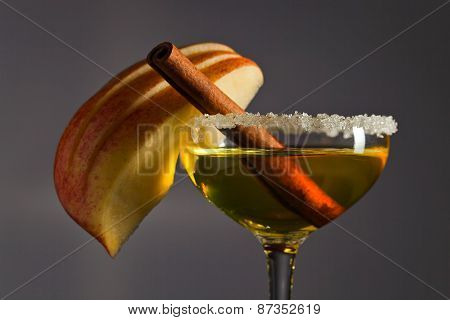 Apple Liquor With Cinnamon