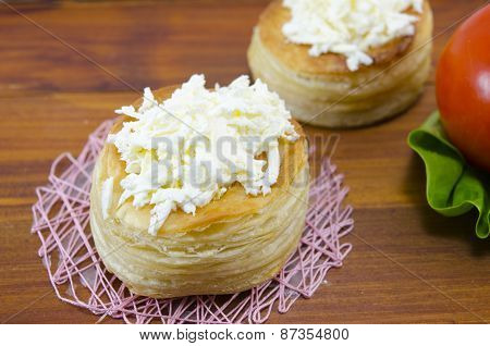 Homebaked Puff Pastry With Cheese