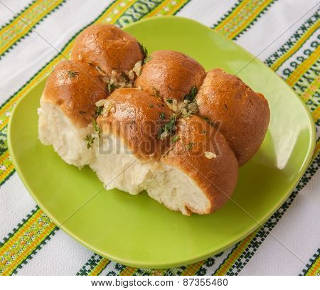 Buns With Garlic