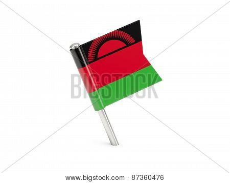 Flag Pin Of Malawi