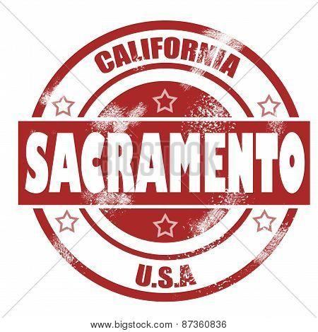 Sacramento Stamp