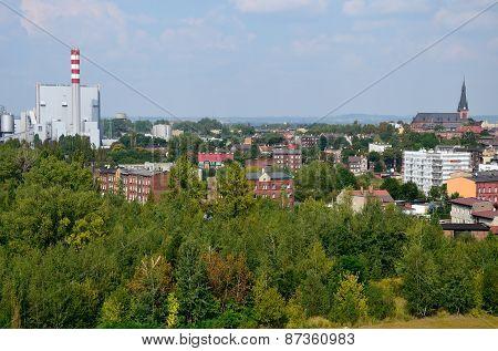 Wiew of the city (Chorzów)