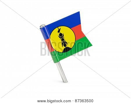 Flag Pin Of New Caledonia