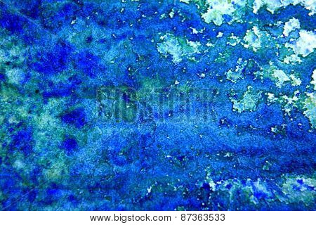 Blue with Green Watercolor Background 5