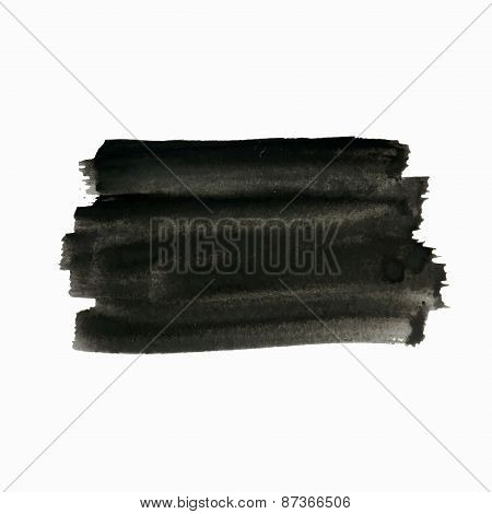Black Painted Background