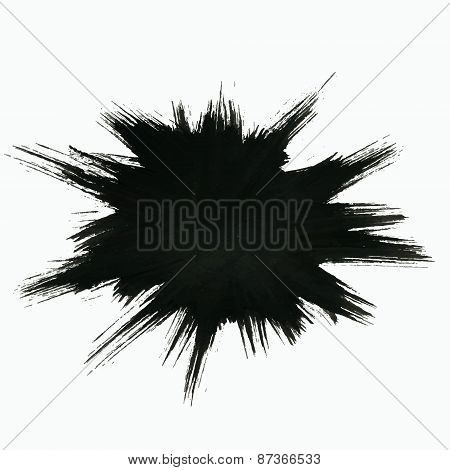 Black Burst Background