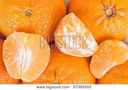 Tangerines Background
