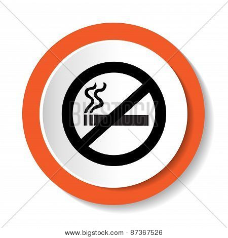 Vector icon no smoking
