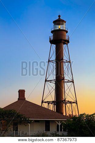 Sanibel Lighthouse Daybreak
