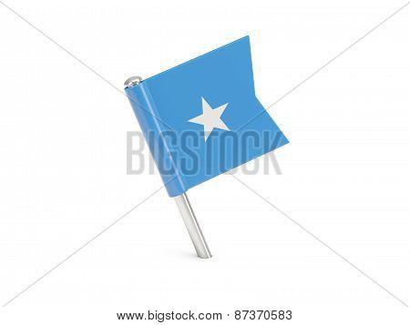 Flag Pin Of Somalia