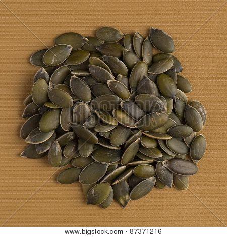 Circle Of Pumpkin Seeds