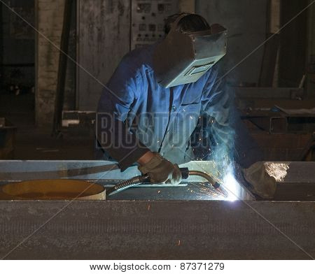 Welding In Production Department
