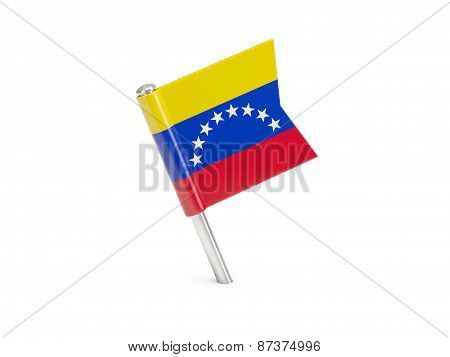 Flag Pin Of Venezuela