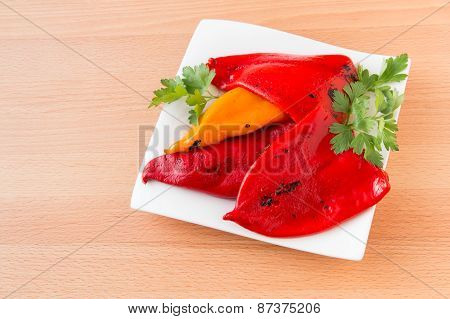 Fire Roasted Bell Peppers.
