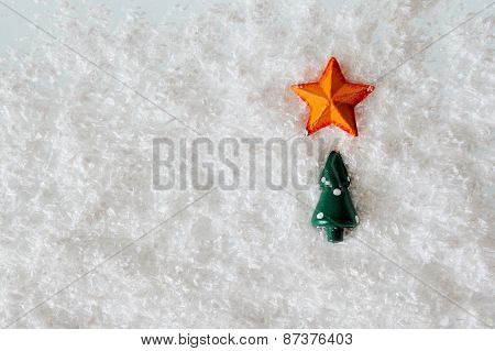 Christmas Tree And Star