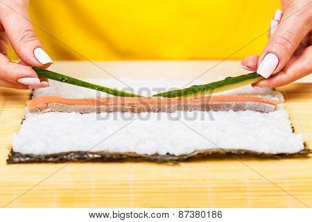 Chef Adds Fresh Cucumbers