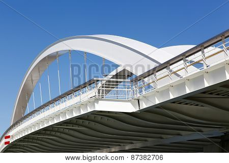 Raymond Barre bridge in Lyon