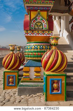 Ancient Russian architectural style