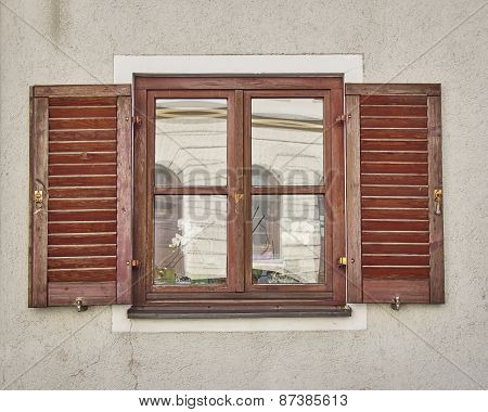 vintage home window Munchen Germany