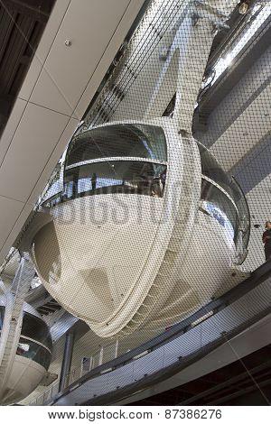 Loading Platform For The High Roller Ferris Wheel In Las Vegas