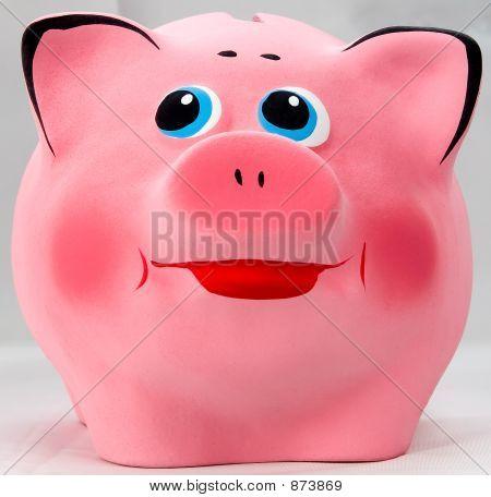 Pink Smiles Piggibank
