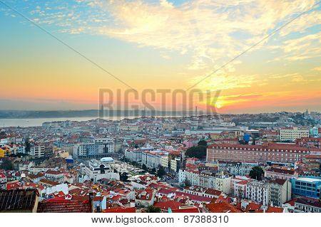 Lisbon Sunset View, Portugal