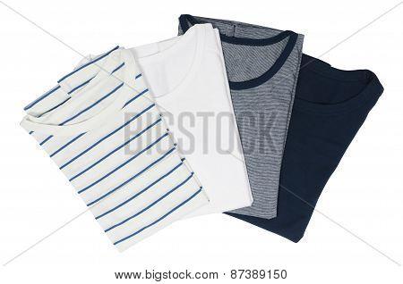 four different T-shirt