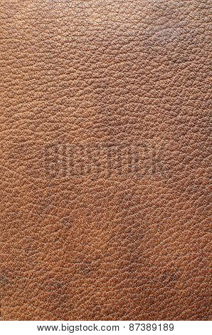 Vintage leather surface closeup