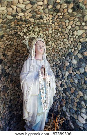 Saint Maria On Willy's Rock On Boracay Beach,  Philippines