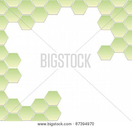 hexagonal frame