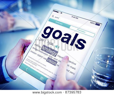Digital Dictionary Goals Strategy Vision Concept