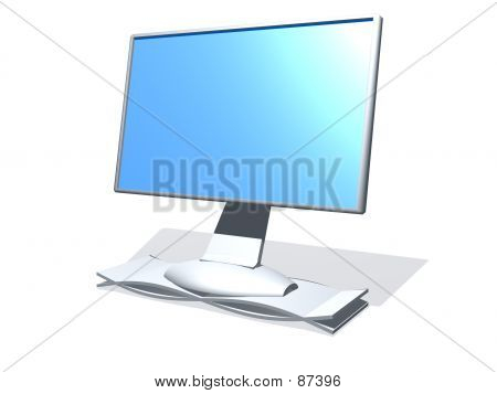 3D Computer Monitor