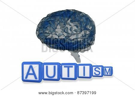 Autism building blocks against brain