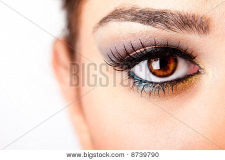 wachsamen Auge