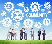 pic of population  - Community Culture Society Population Team Tradition Union Concept - JPG
