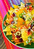 pic of nachos  - Mexican food  - JPG