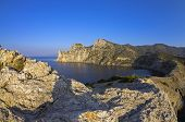 image of early morning  - Coastal cliffs in the early quiet morning - JPG
