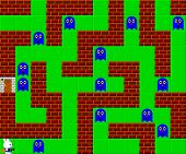 foto of pixel  - Monsters old retro style game pixelated graphics - JPG