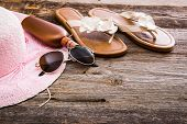 foto of suntanning  - Beach accessories - JPG