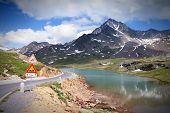picture of italian alps  - Italian Alps landscape  - JPG