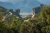picture of trinity  - Image of monastery of Holy Trinity in Meteora Greece - JPG