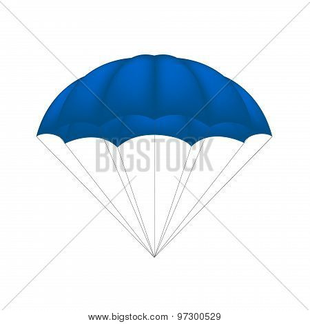 Parachute in blue design
