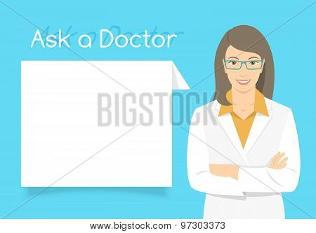 Ask A Doctor Information Banner