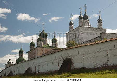The Goritsky Monastery In Pereslavl-zalessky