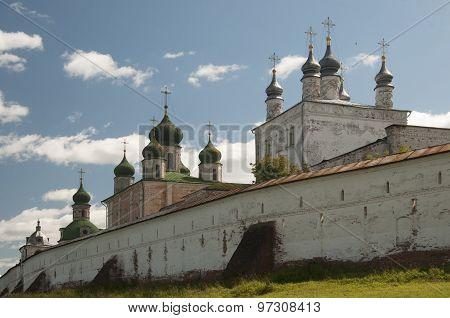 The Goritsky Monastery In Pereslavl-zalessky