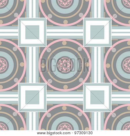 Seamless Ornamental Pattern Decoration Elements Texture, Tile Background