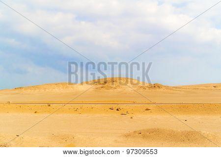 Eastern Desert Landscape In Egypt